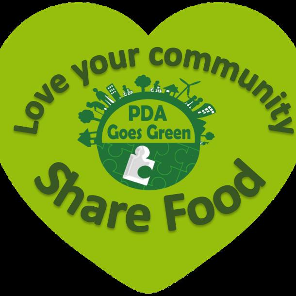 PDA Goes Green Community Fridge